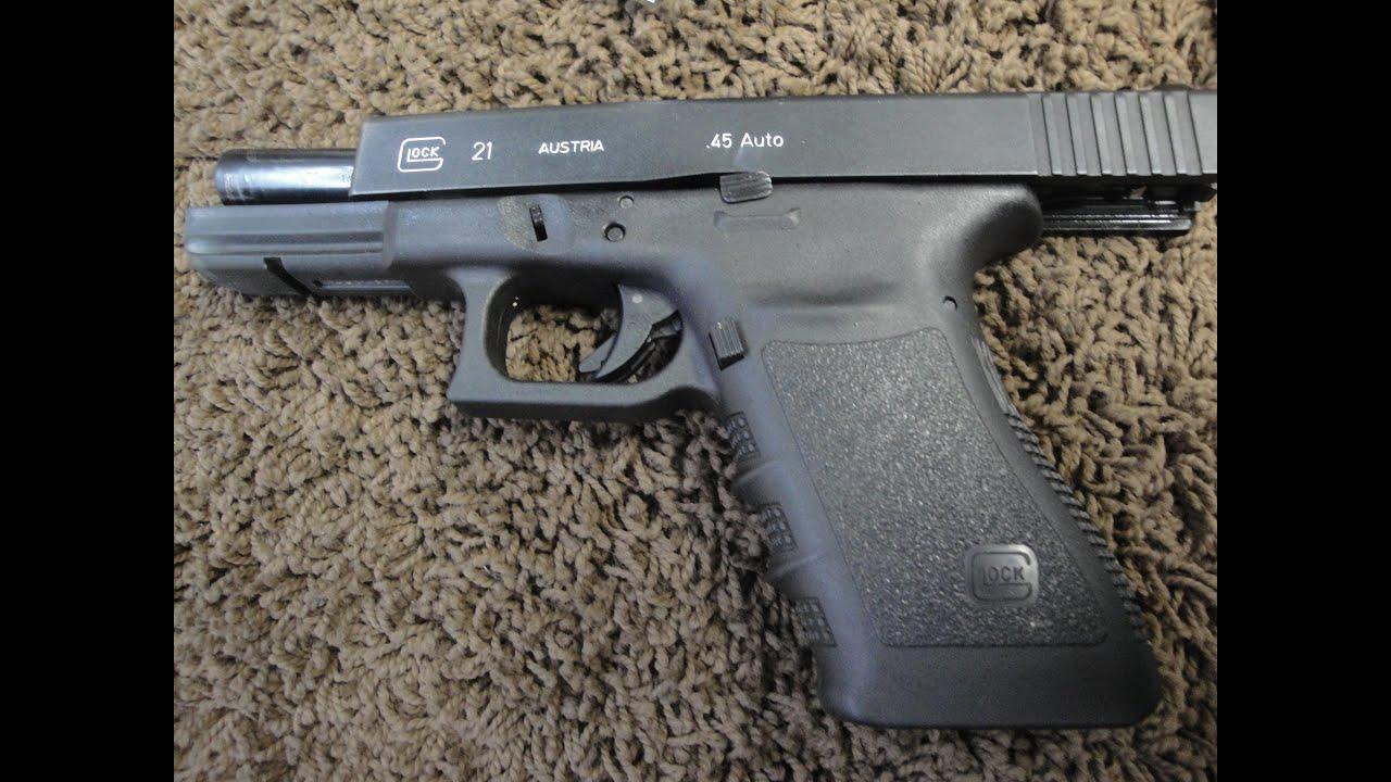 Glock 21 at the Range