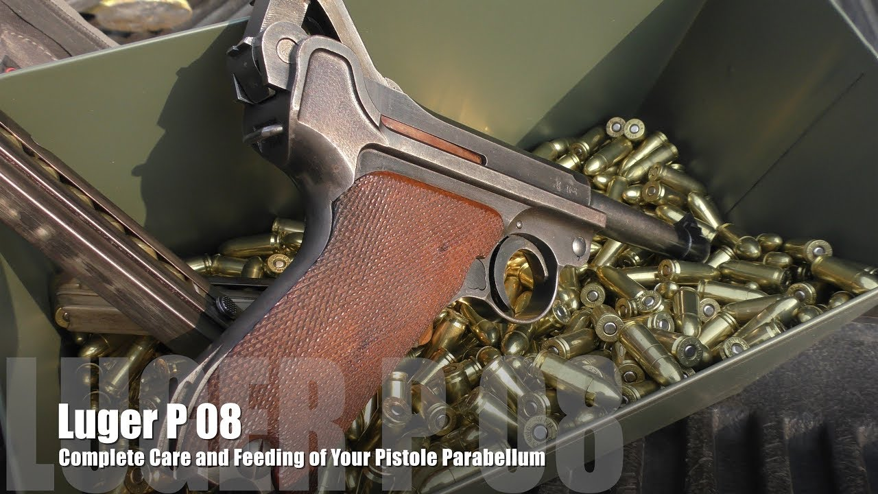 Luger P08 - The Definitive Guide: Part 1