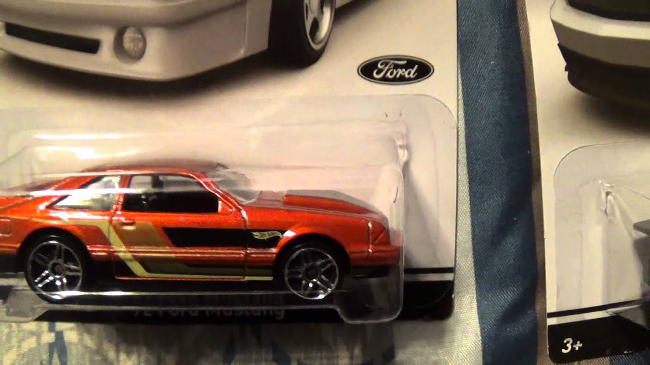 Hot Wheels 50 years of Mustang complete set of 8 score from Walmart