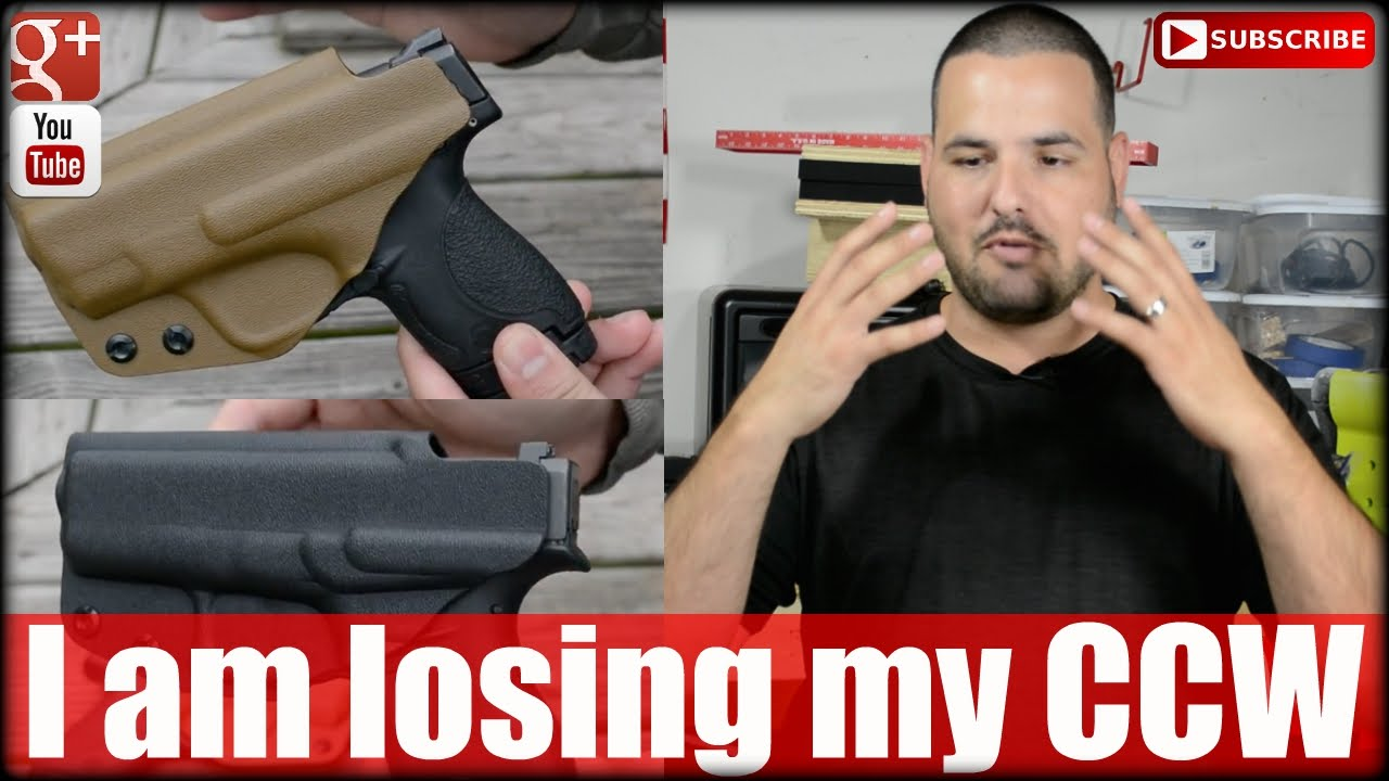 I am losing my Concealed Carry Permit