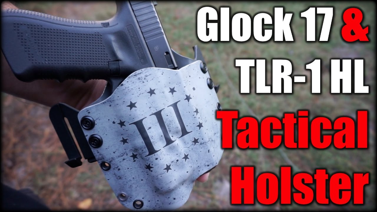 Glock 17 & TLR-1 Holster| Tactical Alpha Gear