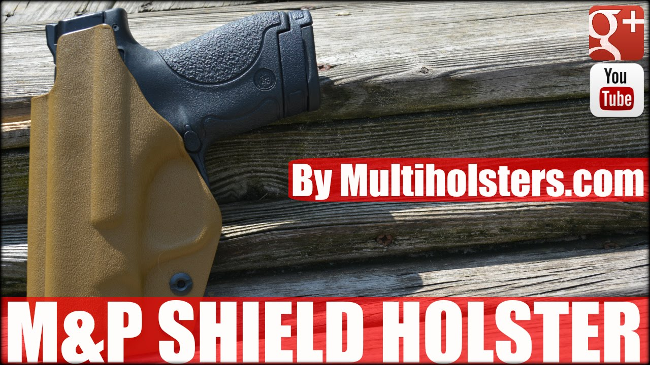 M&P Shield: EDC Elite Holster by Multi Holsters