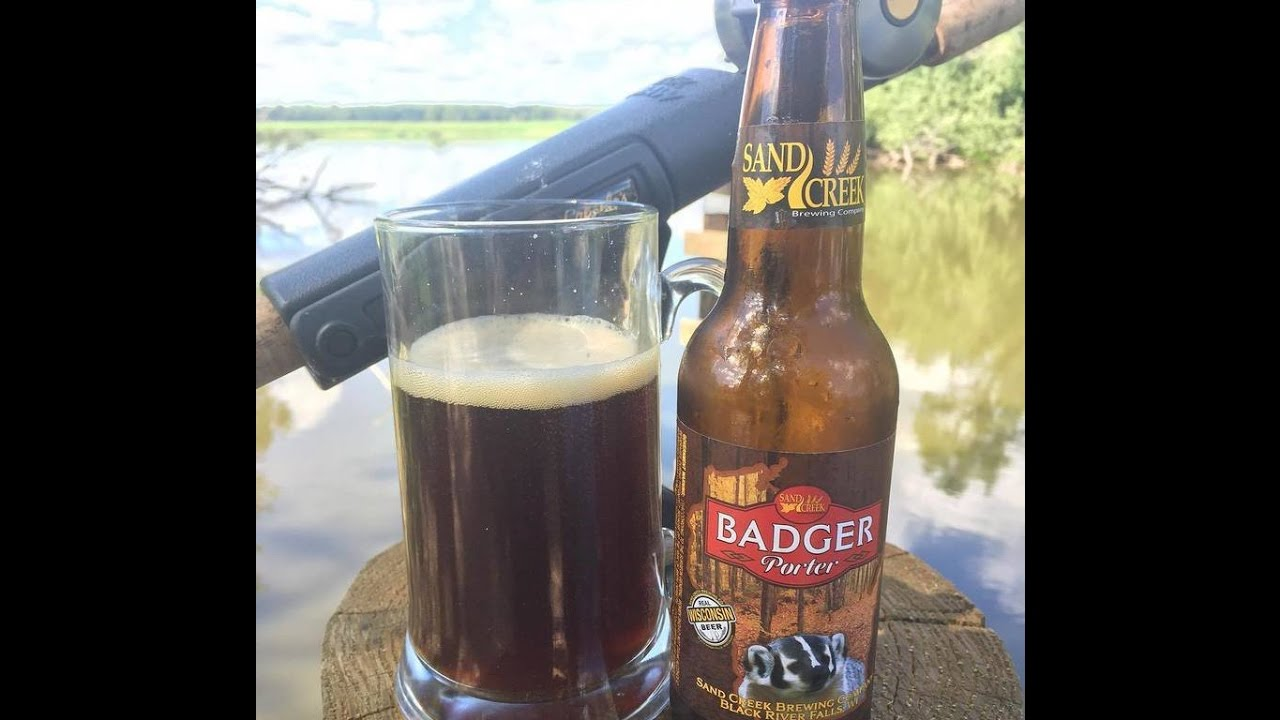 BADGER PORTER from SAND CREEK Brewing