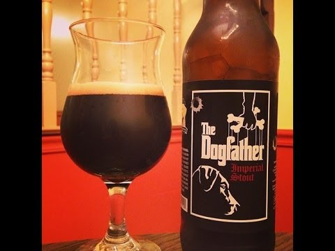 The DogFather from Laughing Dog Brewing