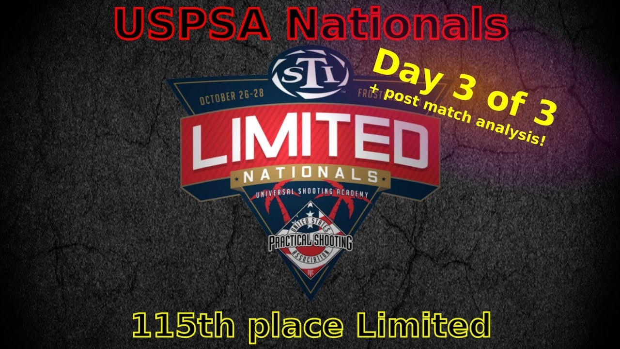 USPSA Limited Nationals 2018 - Limited - Day 3/3