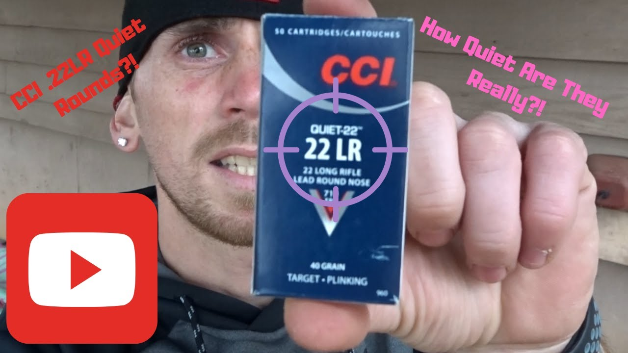 Testing Out CCl Quiet  22LR Ammo, Does it really compare to a Pellet Gun?!?!