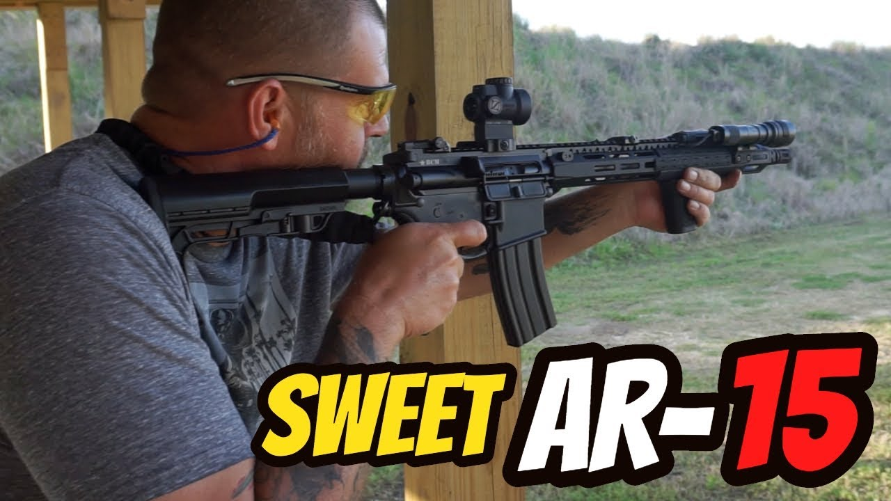 Sweet Looking AR-15 at the Range
