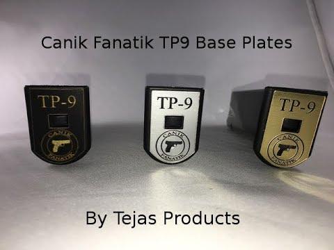 Canik Fanatik TP9 Base Plates