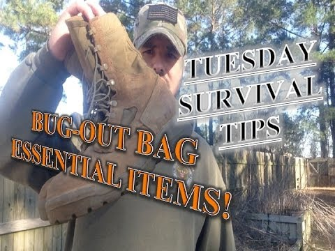 Bug-Out Bag Essential Items. TST Ep #8