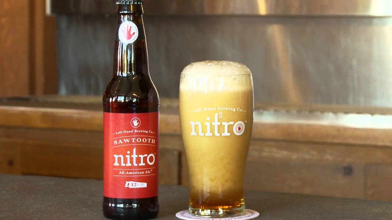 Sawtooth Nitro American Ale from Left Hand Brewing