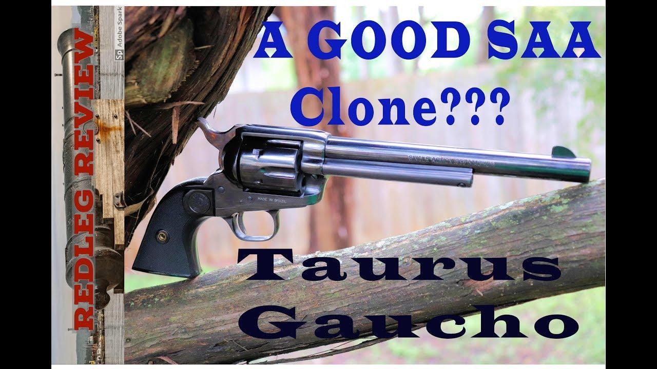 Taurus Gaucho - A Good SAA Clone?