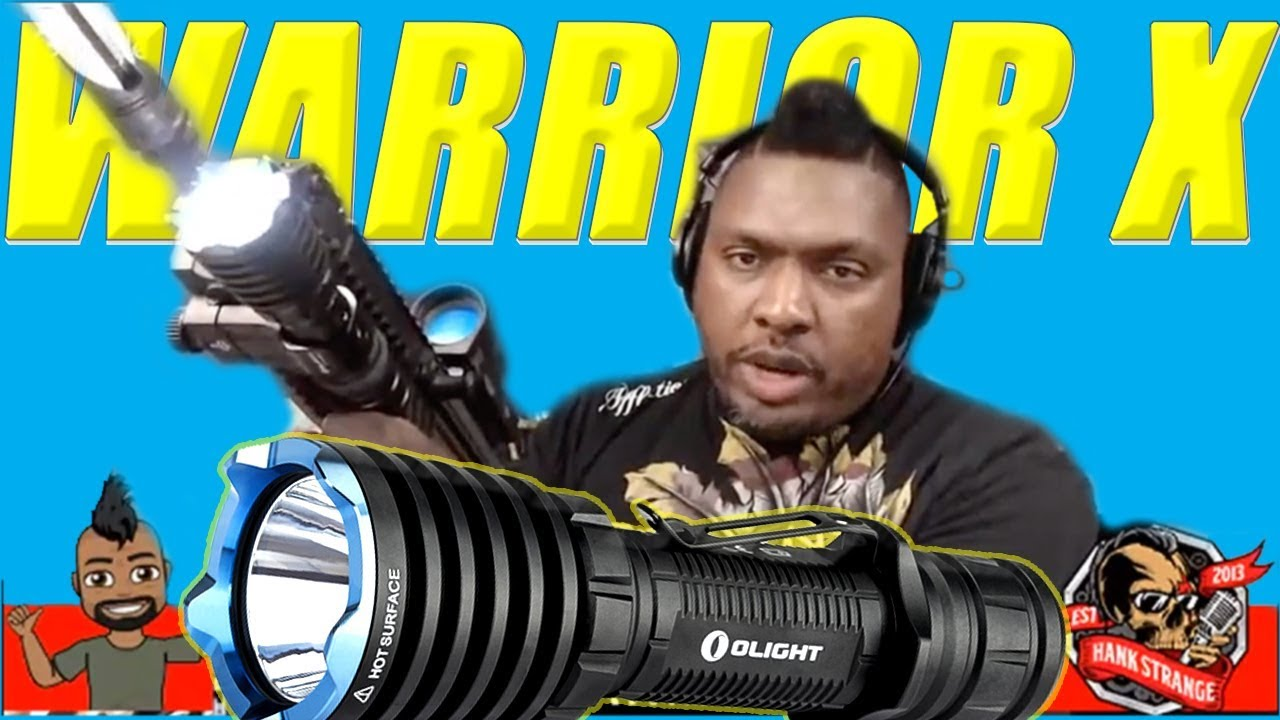 Olight WARRIOR X EDC Flashlight Weapon Light & Sale🔥First Look