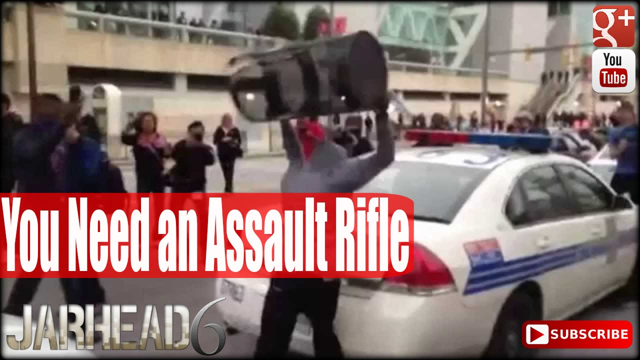 Baltimore Riots Proves YOU Need an Assault Rifle