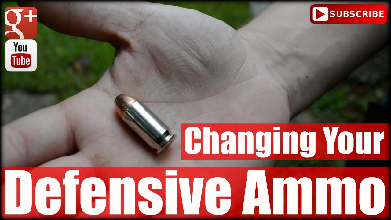How Often Should You Change Your Defensive Ammo
