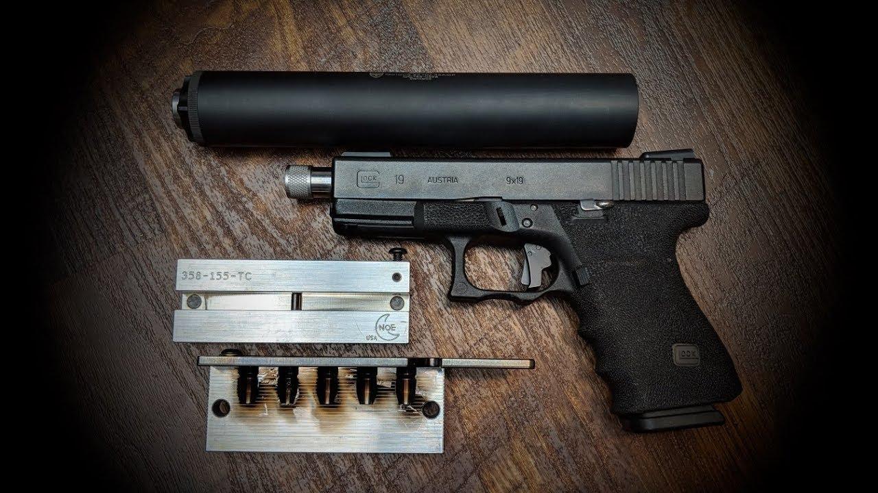 160gr. 9mm Subs w/ NOE 358-155-TC
