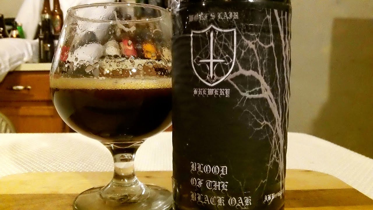 Blood of the Black Oak from Wolf's Lair Brewery