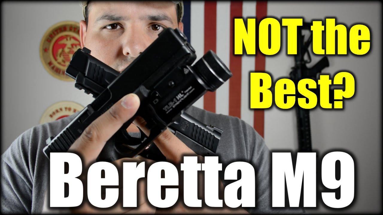 Military Pistol Beretta M9: NOT the Best Choice