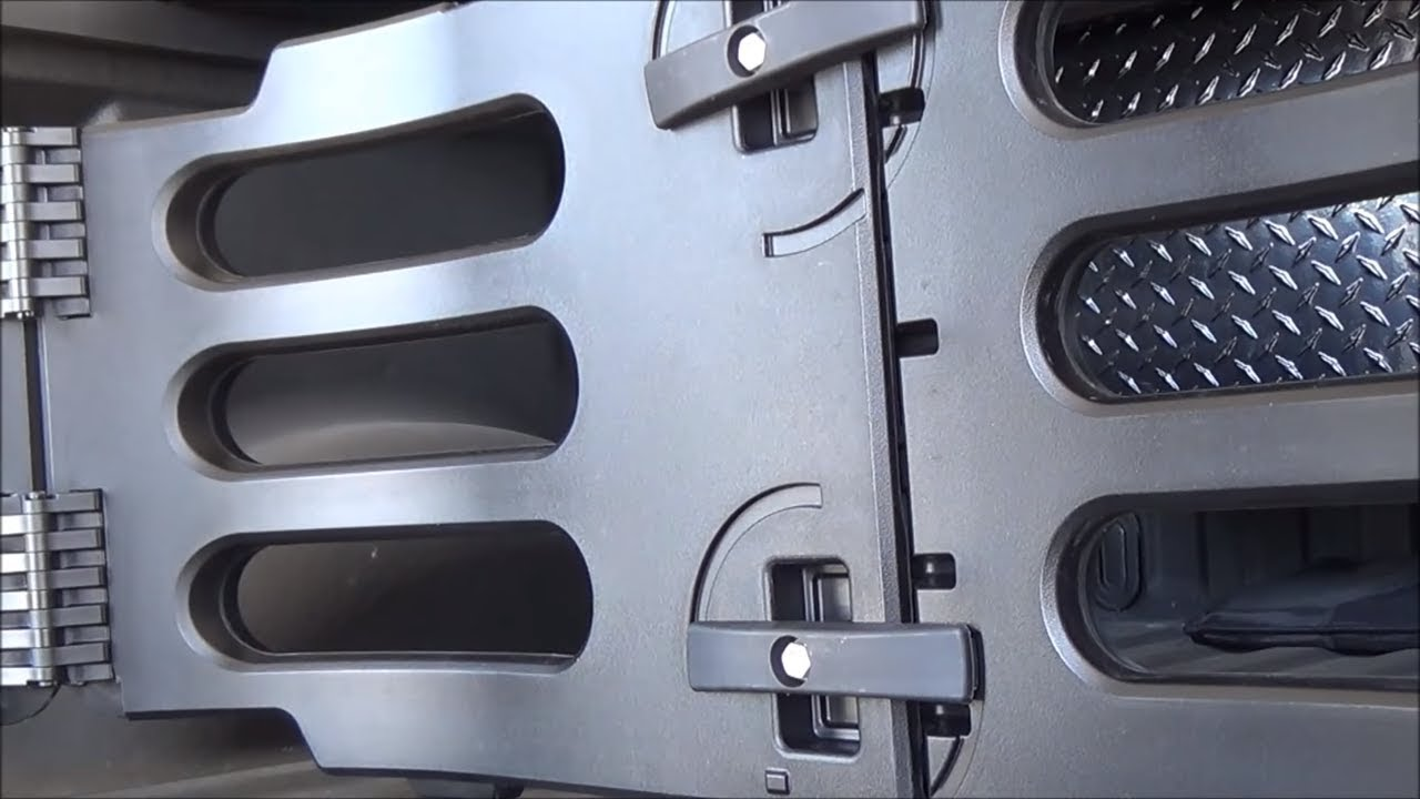 2013 Ford F150 Bed Extender Installation while I grille and burn bratwurst