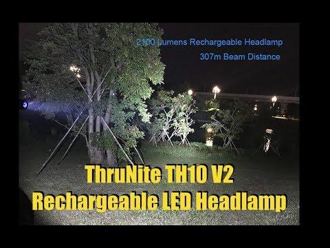 ThruNite TH10 V2 2,100 Lumen Rechargeable Headlamp