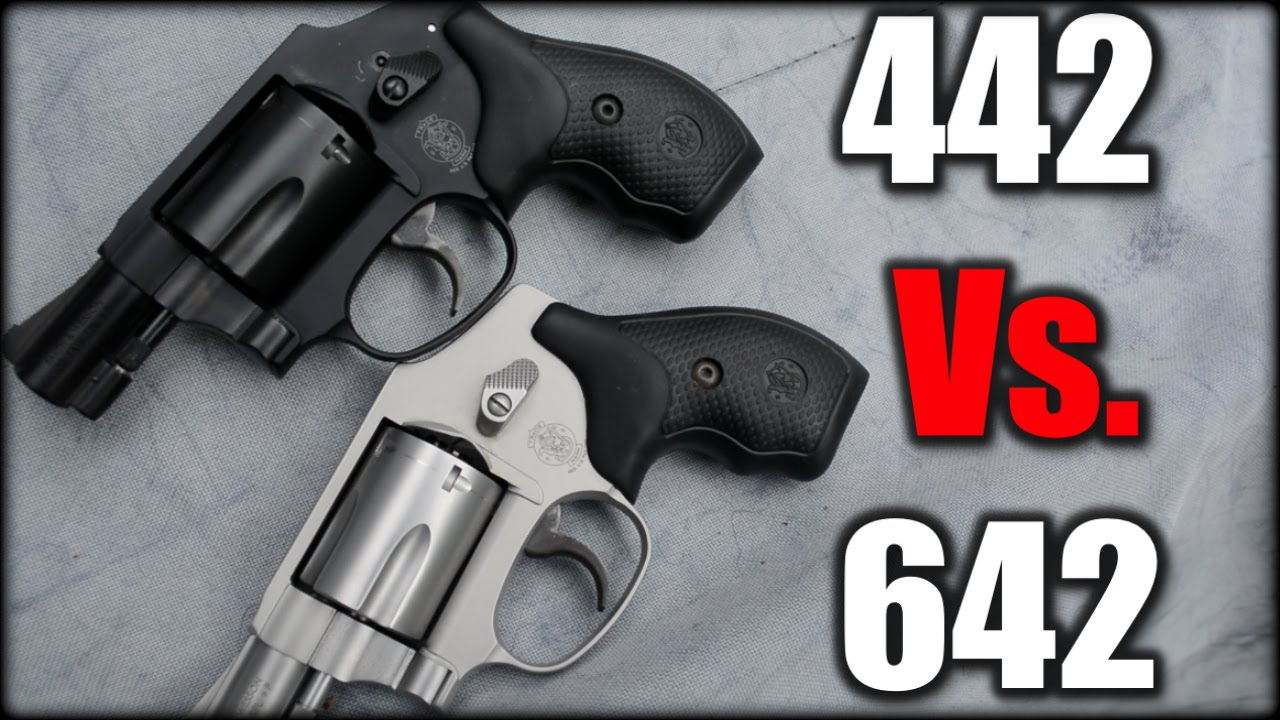 S&W 442 Vs  642 Airweight Revolver| Range Report