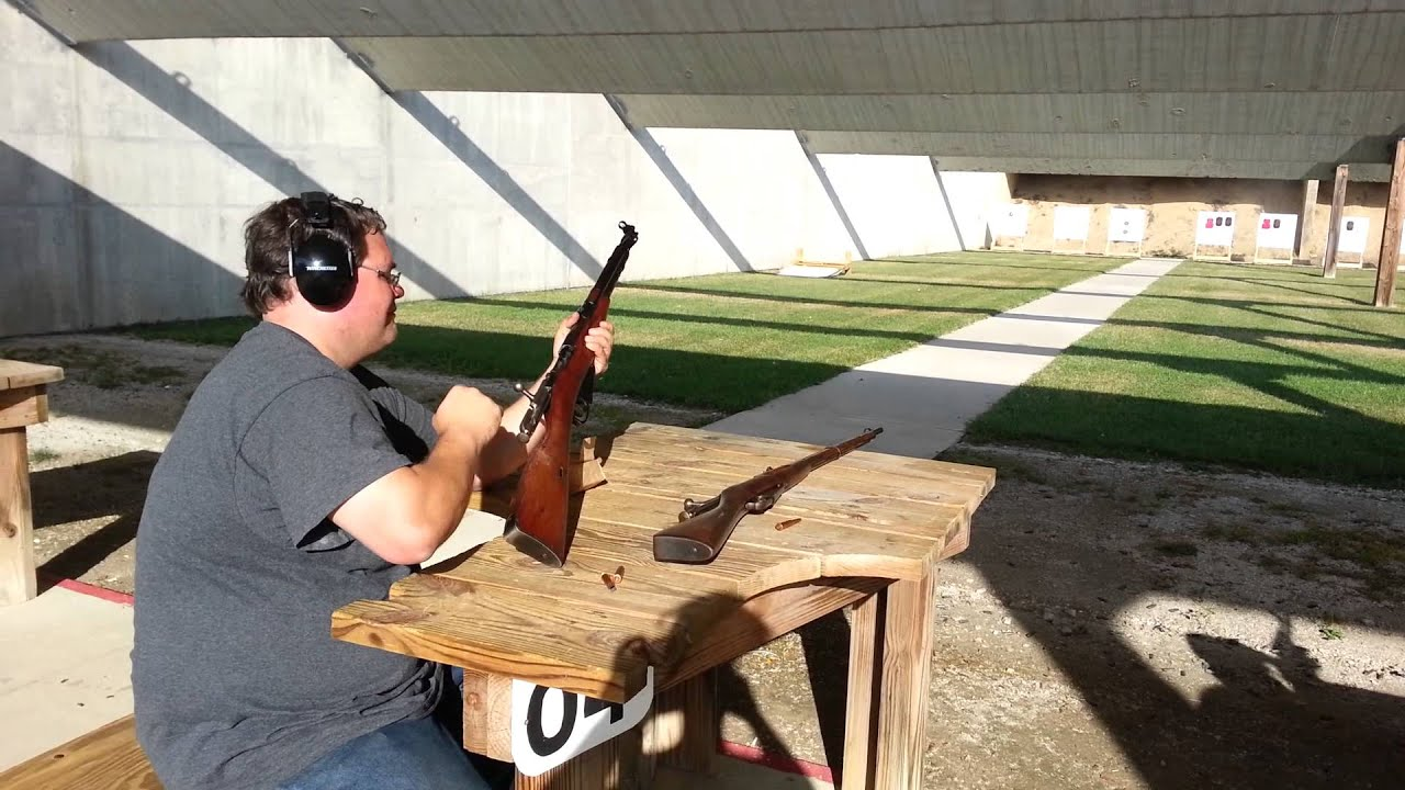 Another Daewoo DR 200 video, this time with my friend shooting a Chinese T53 rifle.