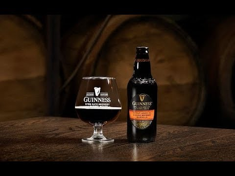 Guinness Stout Aged In Bulleit Bourbon Barrels