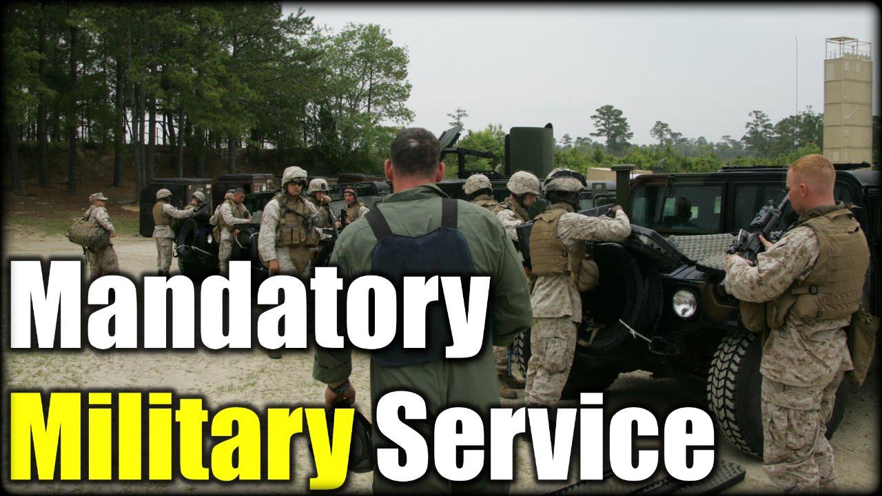 Mandatory Military Service| NO WAY!