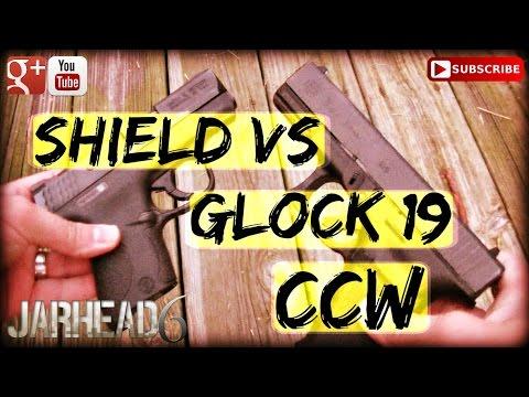 M&P Shield Vs. Glock 19: CCW