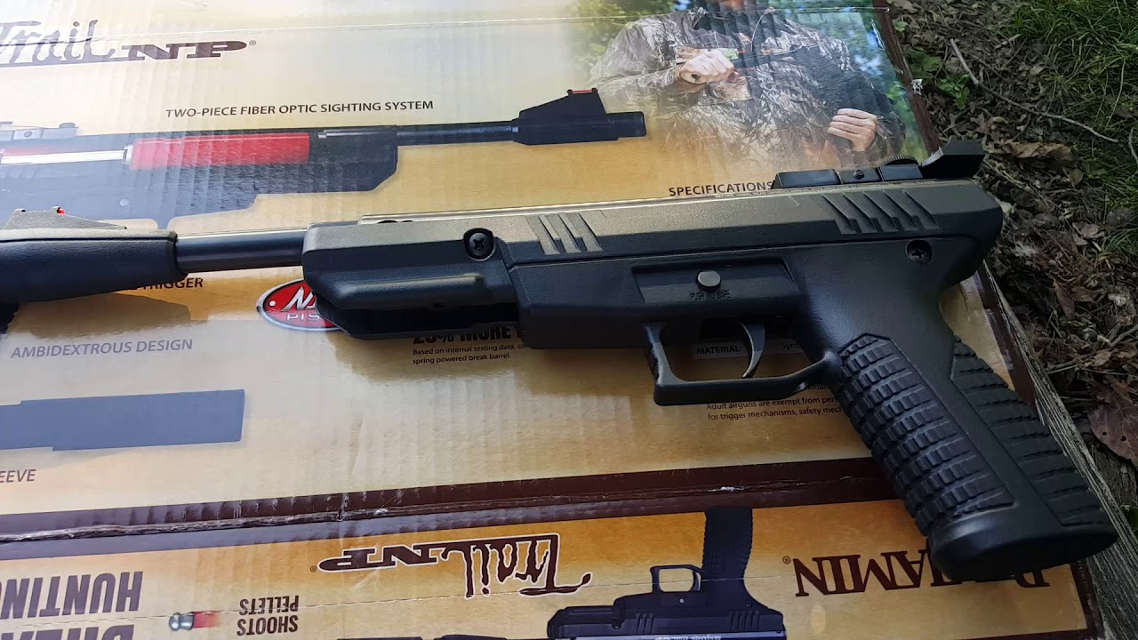 Benjamin Trail NP Break Barrel air pistol