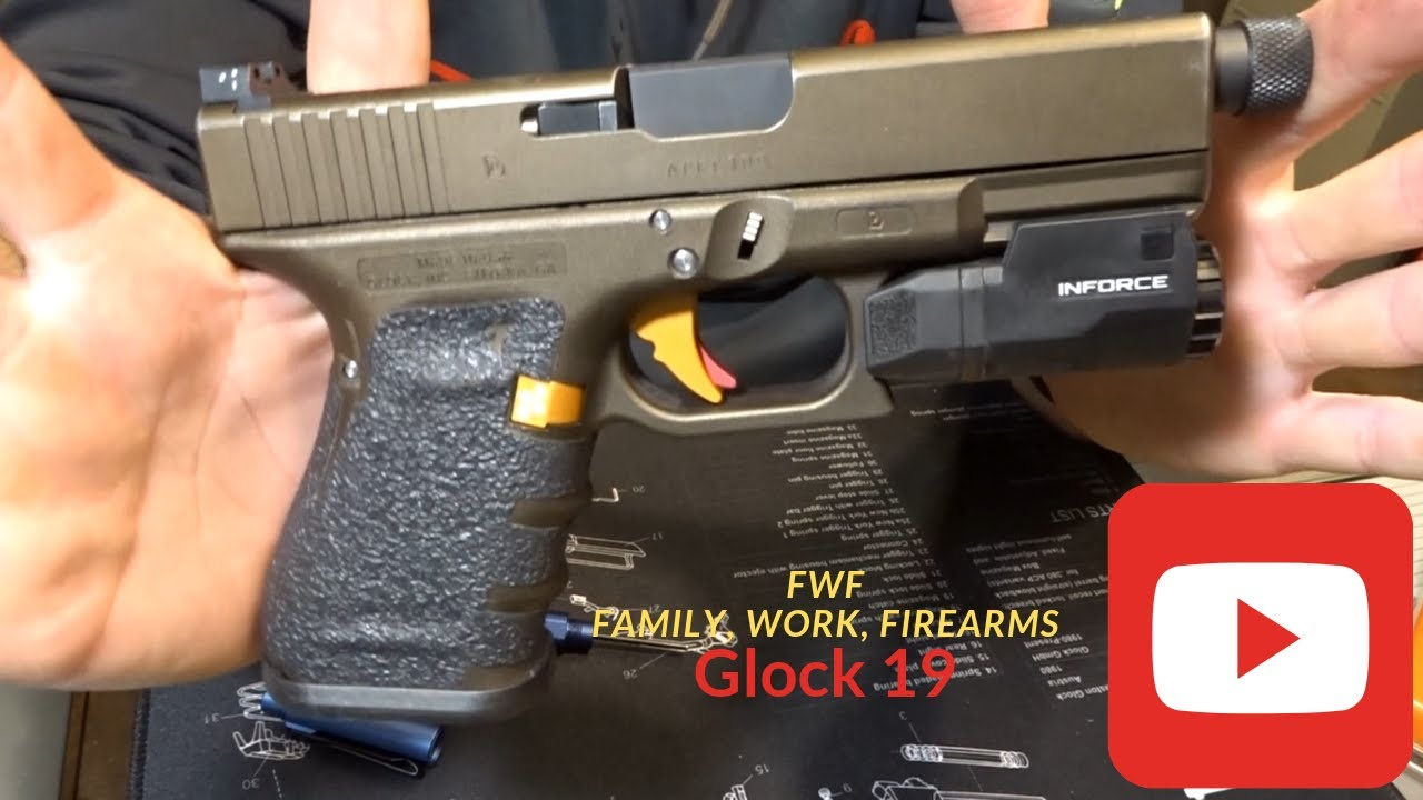 Review Of My Modded Burnt Bronze Gen 4 Glock 19!