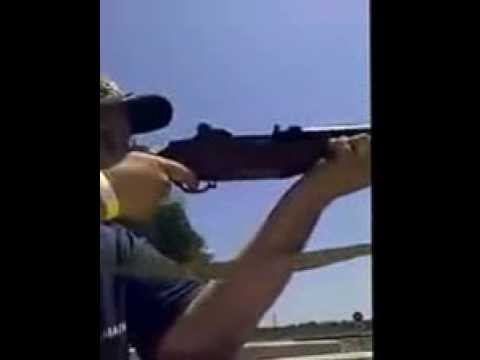 Shooting my M1 Garand (with ping)