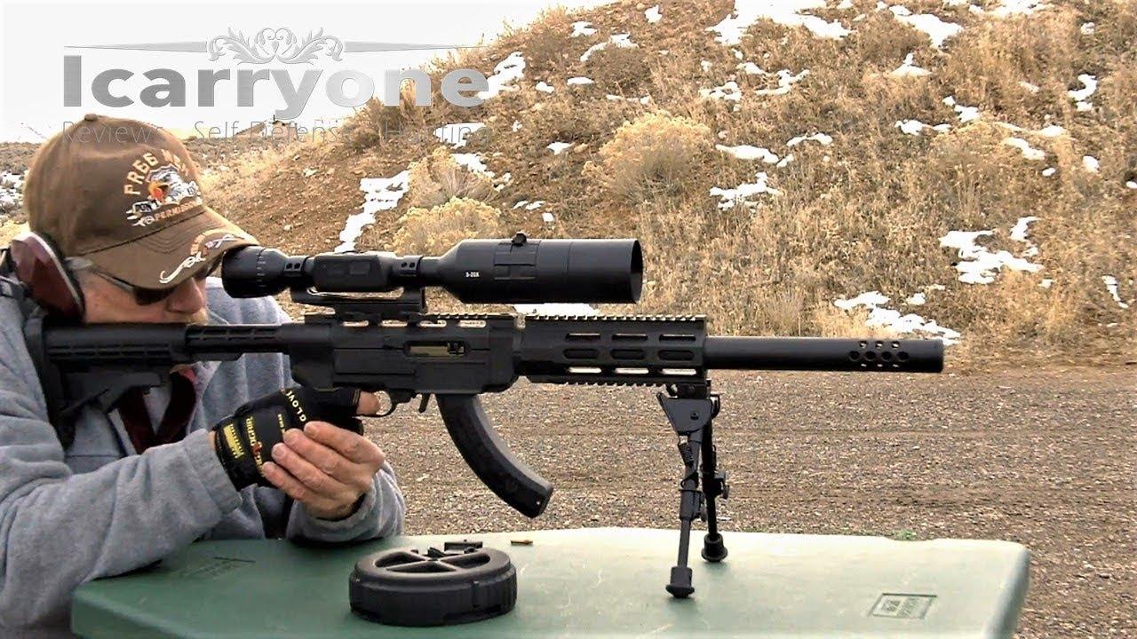 ATN X-Sight 4K BuckHunter 5X20 - Range Evaluation