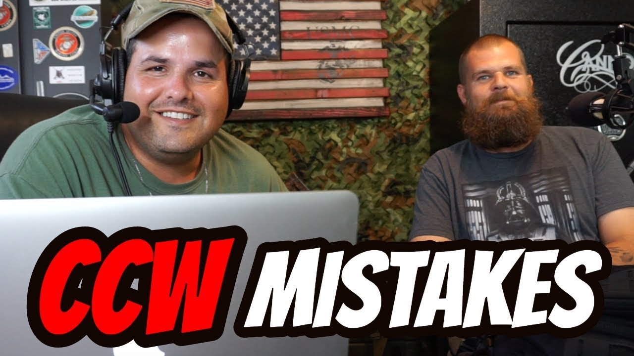Talking About Concealed Carry Mistakes!