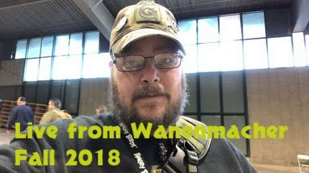 Live from Wanenmacher Fall 2018