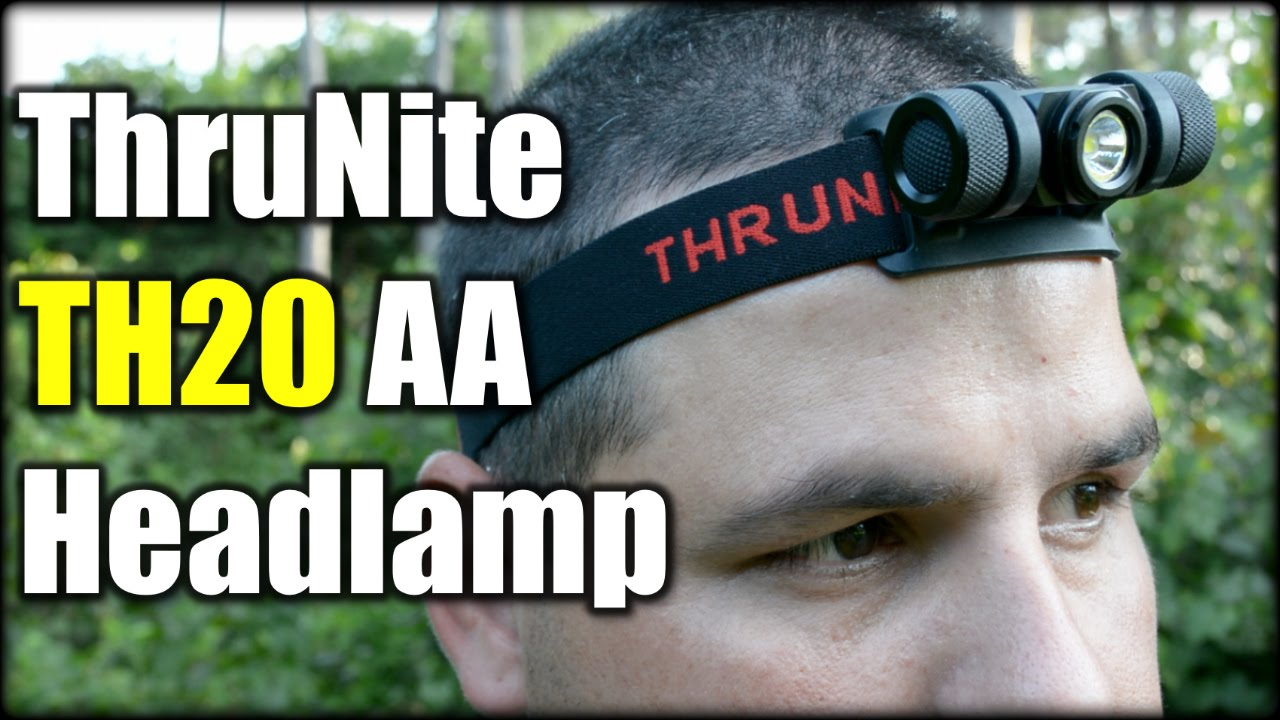 ThruNite TH20 AA Headlamp| I Dig it!