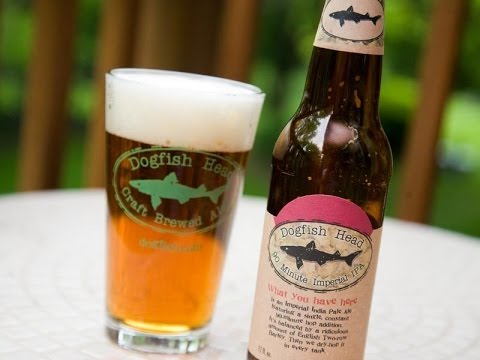 90 Minute Imperial IPA from Dogfish Head