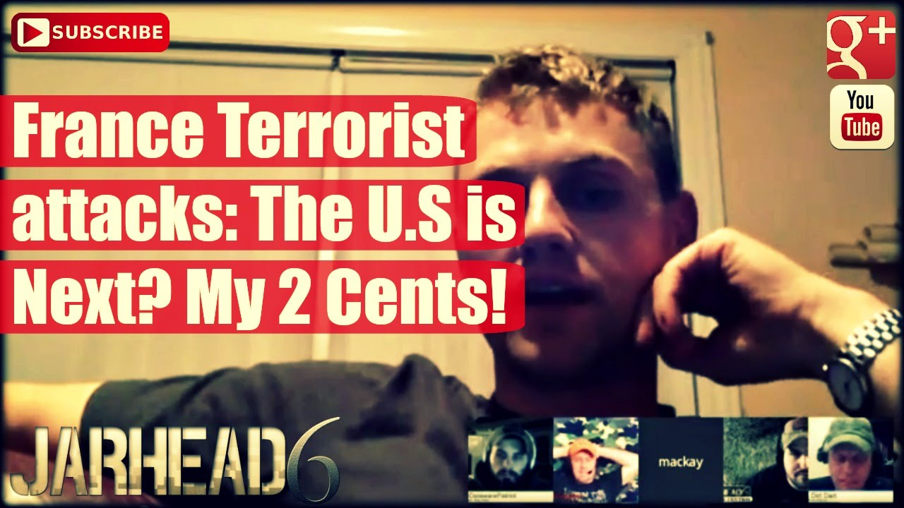 France Terrorist attacks: The U.S is Next? My 2 Cents!