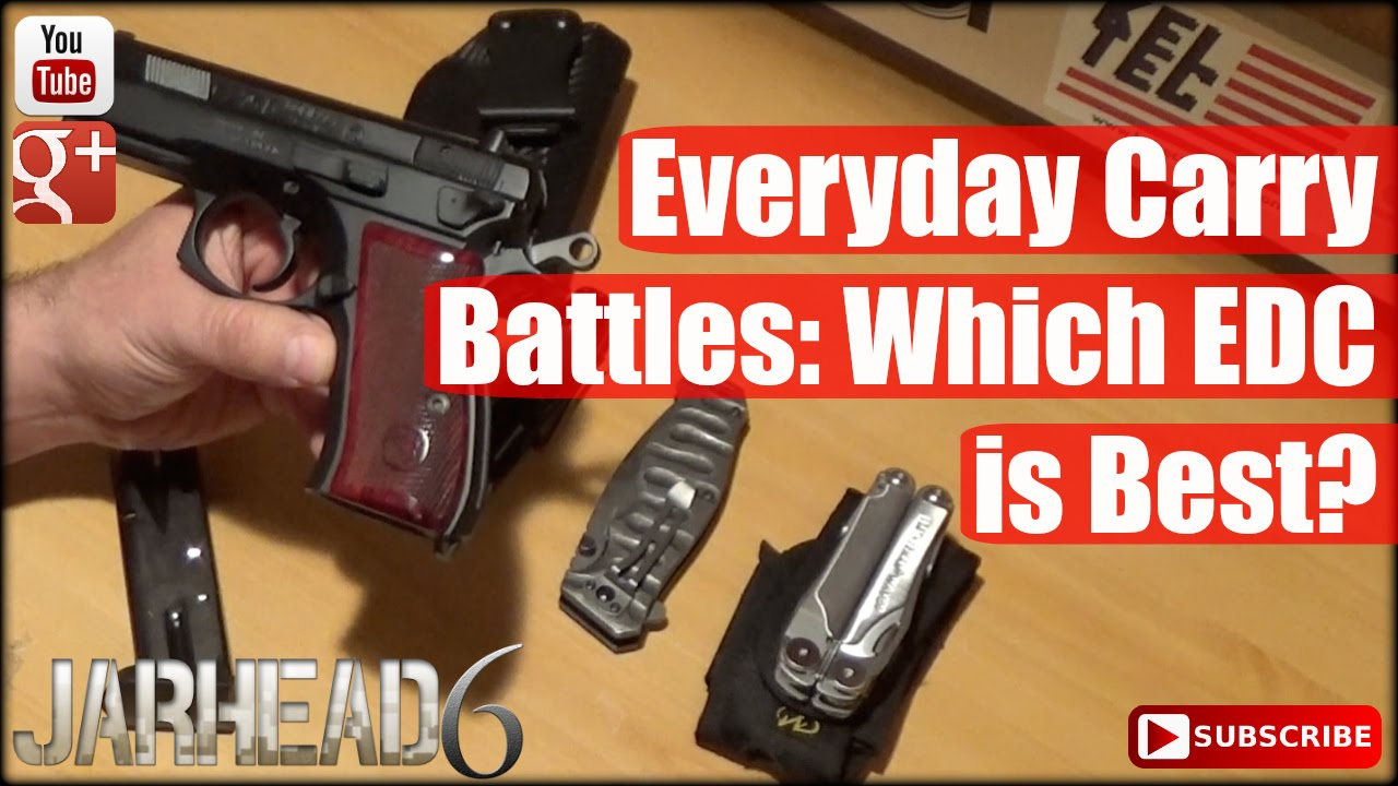 Everyday Carry Battles: Which EDC is Best?