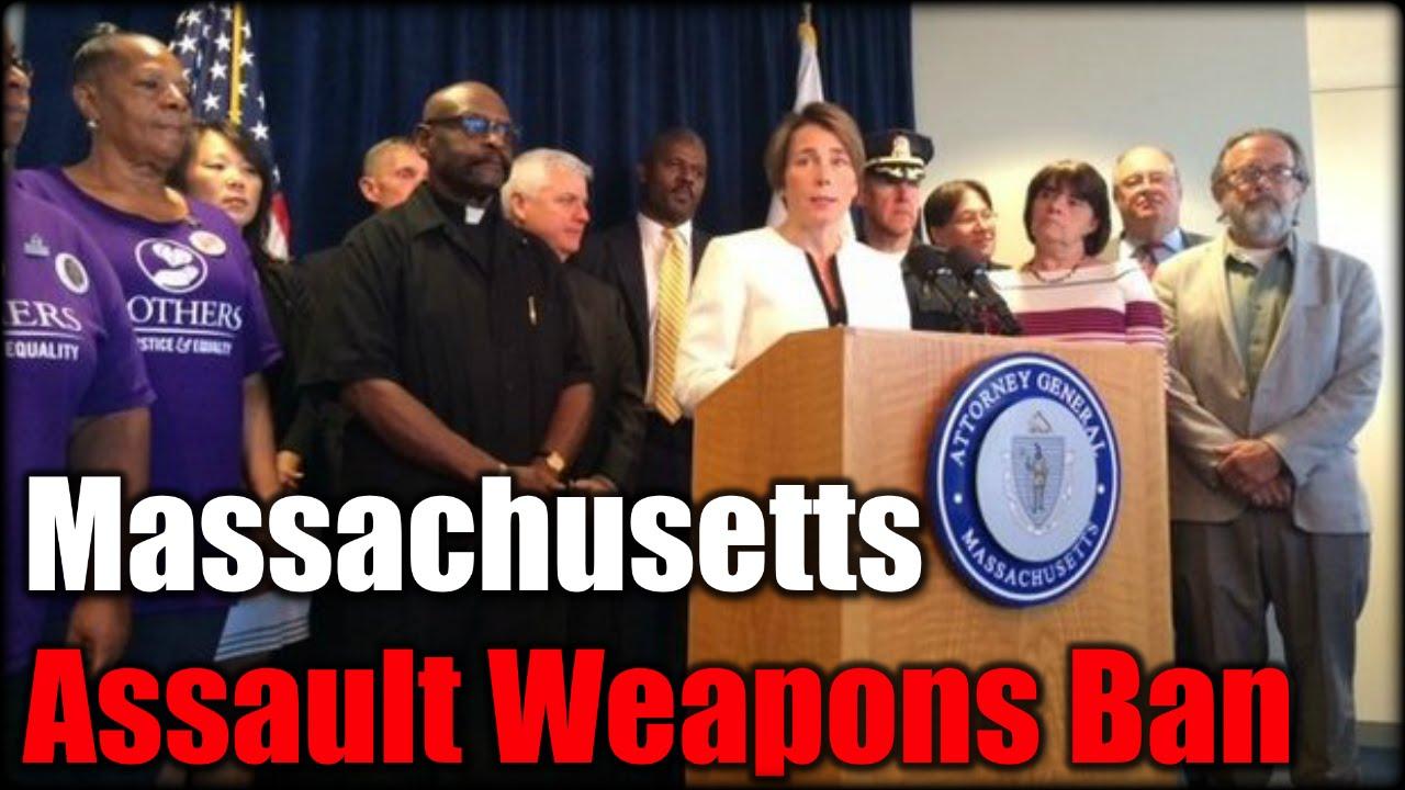 Massachusetts Assault Weapons Ban #AskJH6