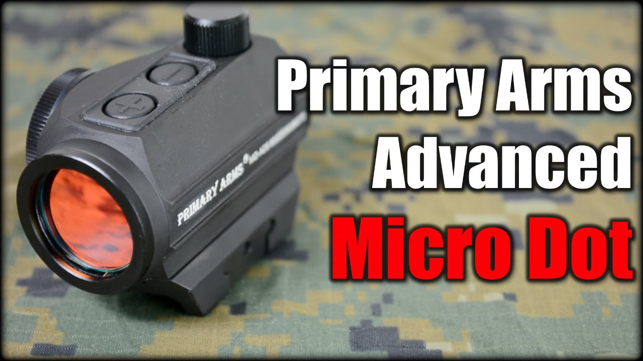 Primary Arms Advanced Micro Dot| 5 Years Battery Life!