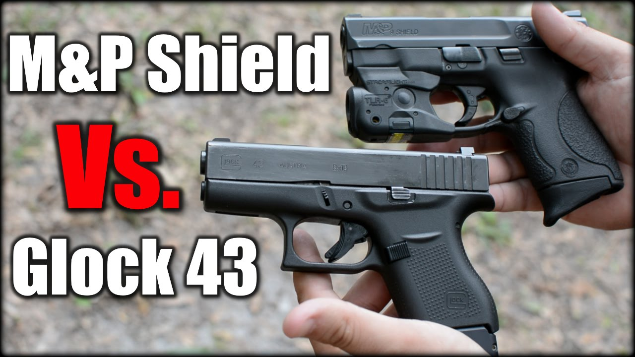 Glock 43 Vs. M&P Shield: 1 Year Later