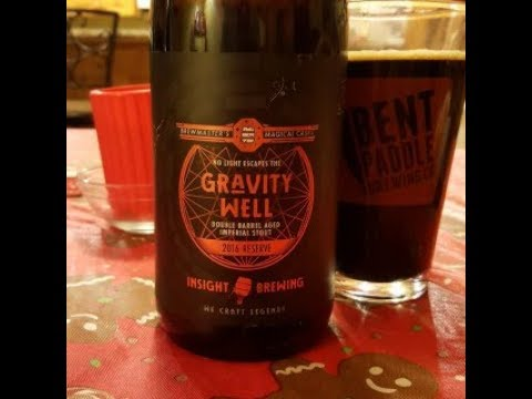 GRAVITY WELL Double Barrel Aged Imperial Stout