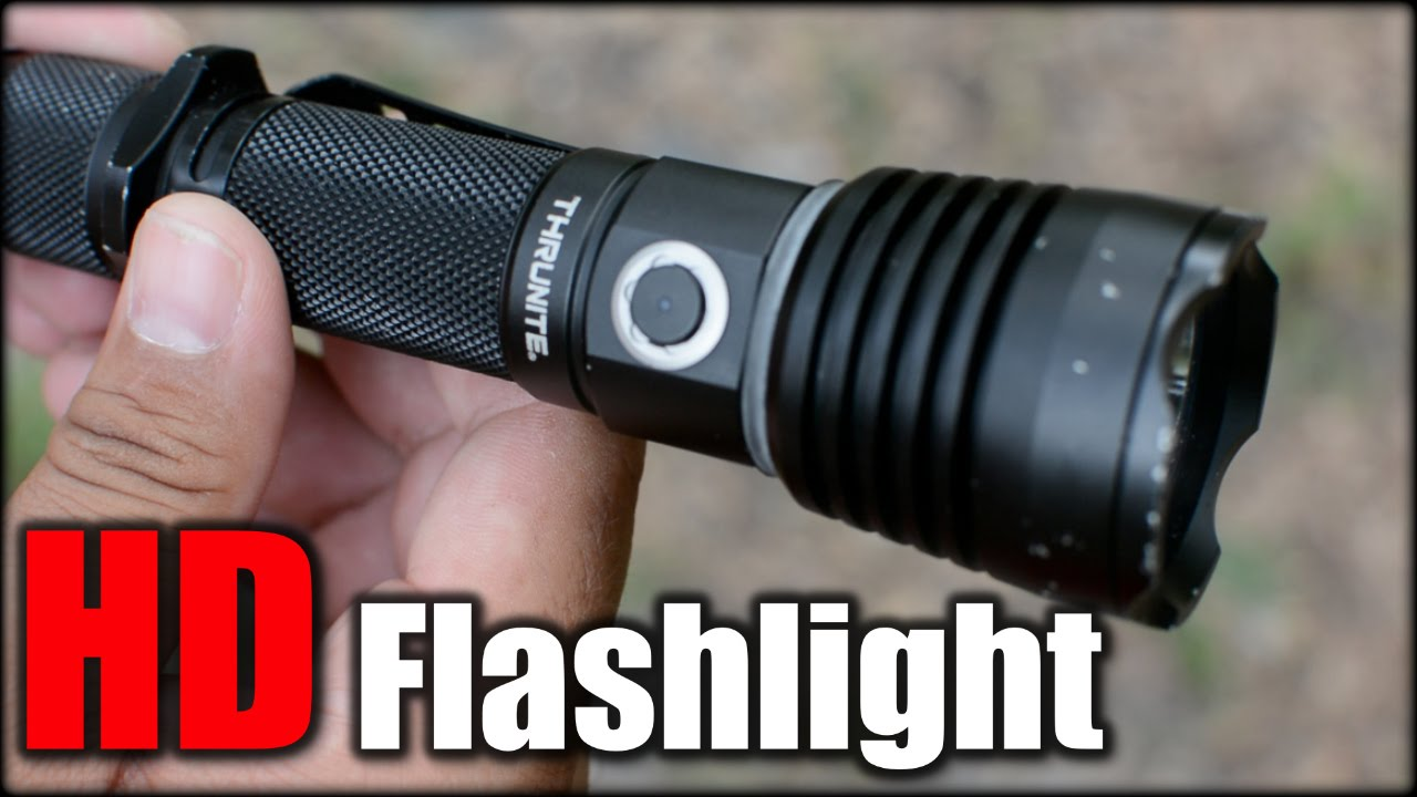 Home Defense Flashlight 1 Year Later  ThruNite TC10 V2