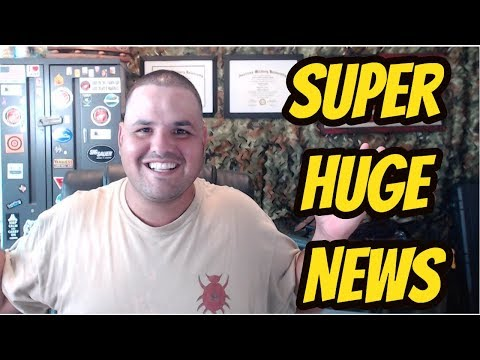 Super Huge News Starting Tomorrow