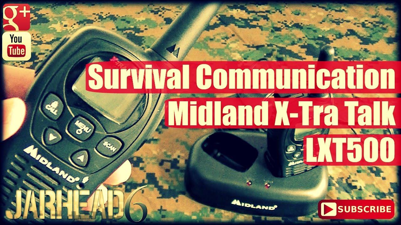 Survival Communication: Midland X-Tra Talk LXT500