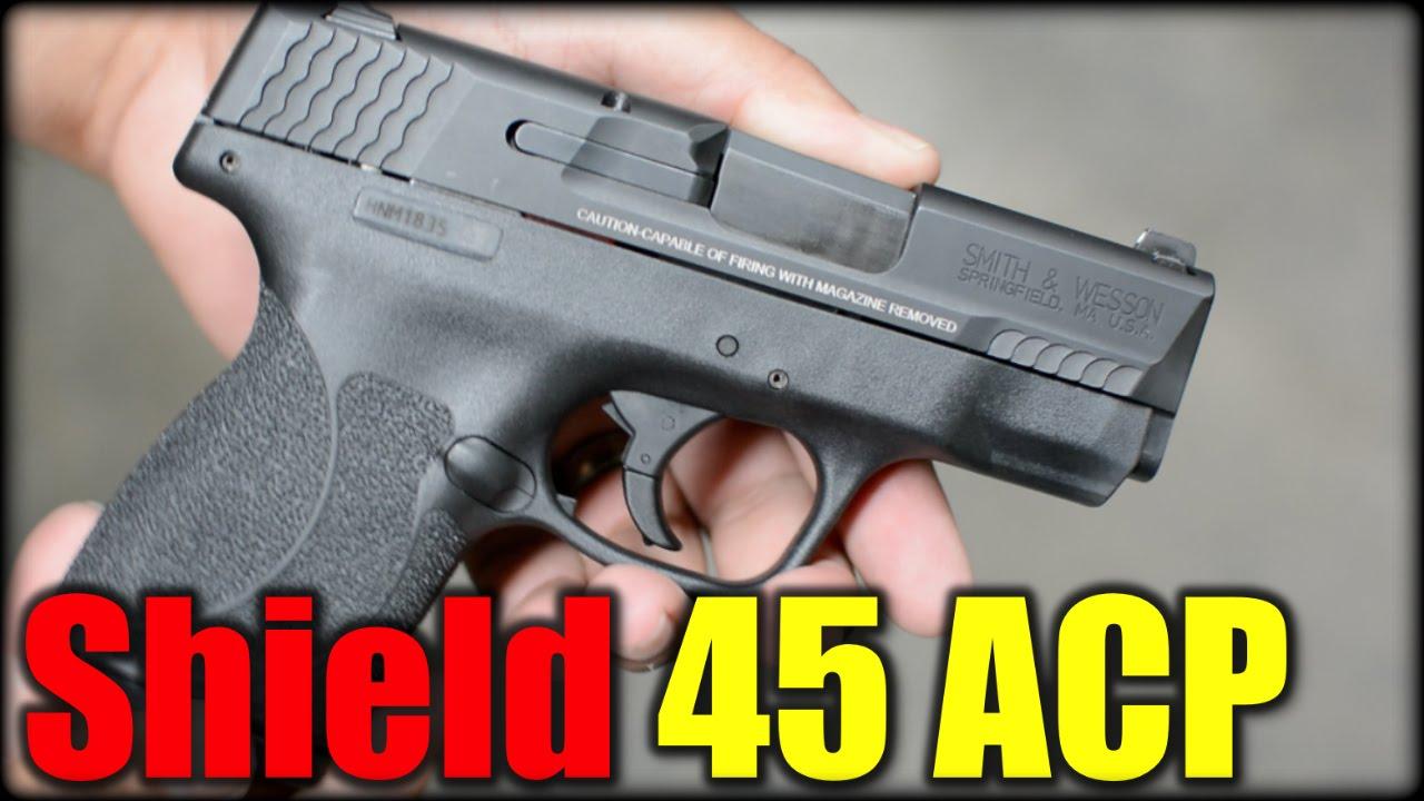 S&W M&P Shield 45 ACP| First Shots GoPro