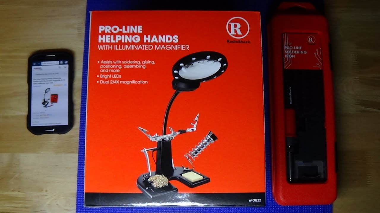 Pro Line Soldering Station with Iron by Radio Shack Review