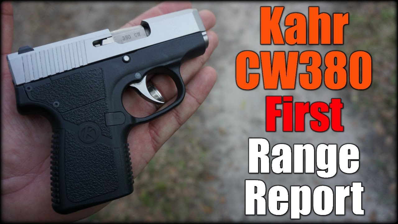 Kahr CW380| First Range Report