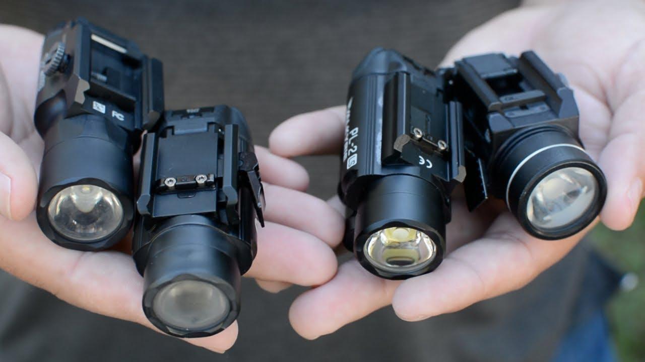 Best Weapon Mounted Lights for Handguns!