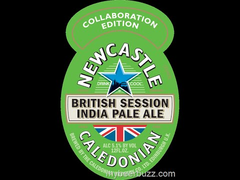 British Session IPA from New Castle